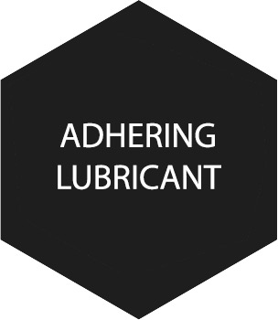 ADHERING-LUBRICANT
