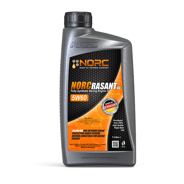 Norc rasant db 5w60 1l barcode information for Types of motor oil weight